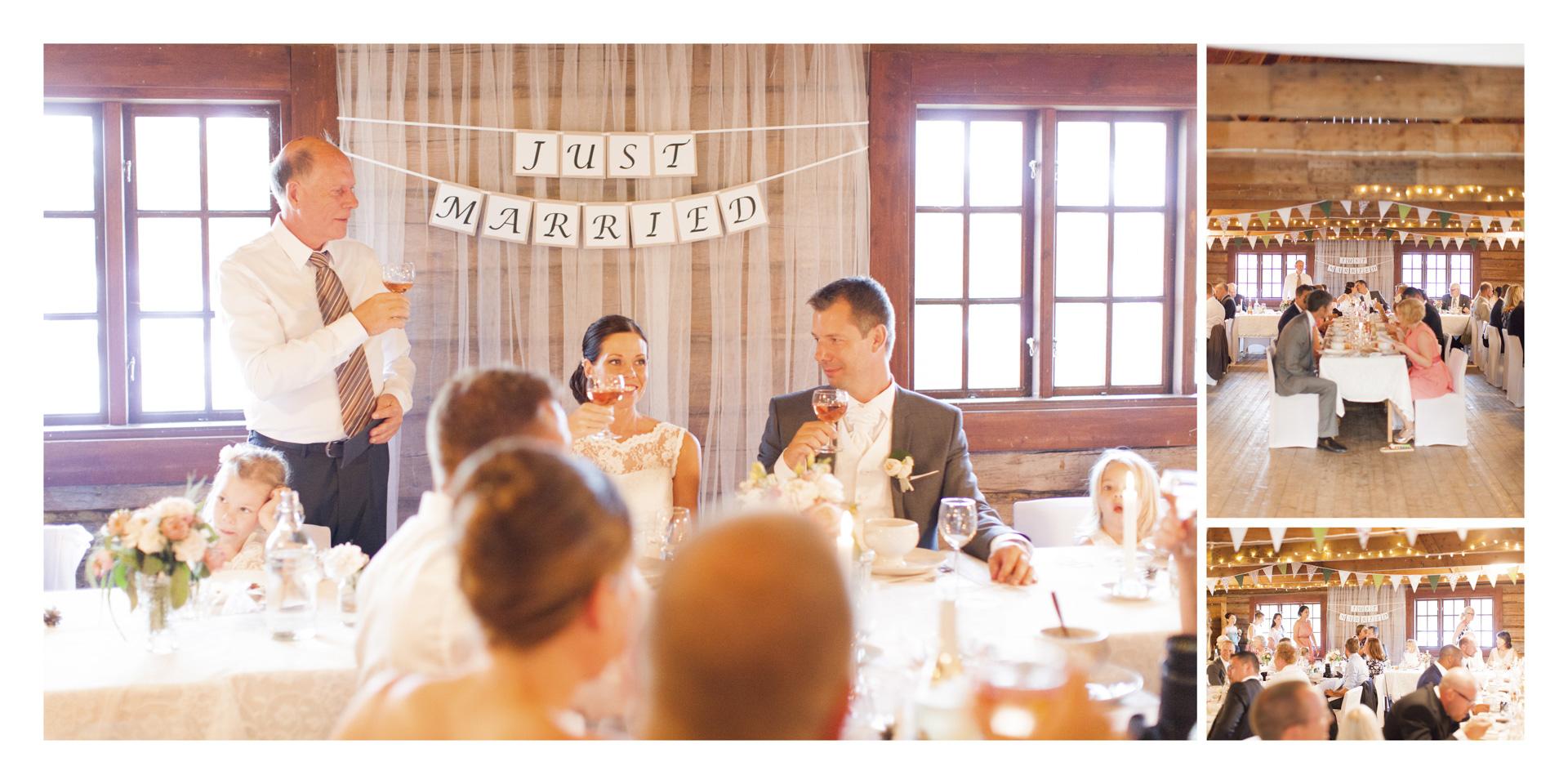 Bröllop Jessica & Joachim på Sparreholm