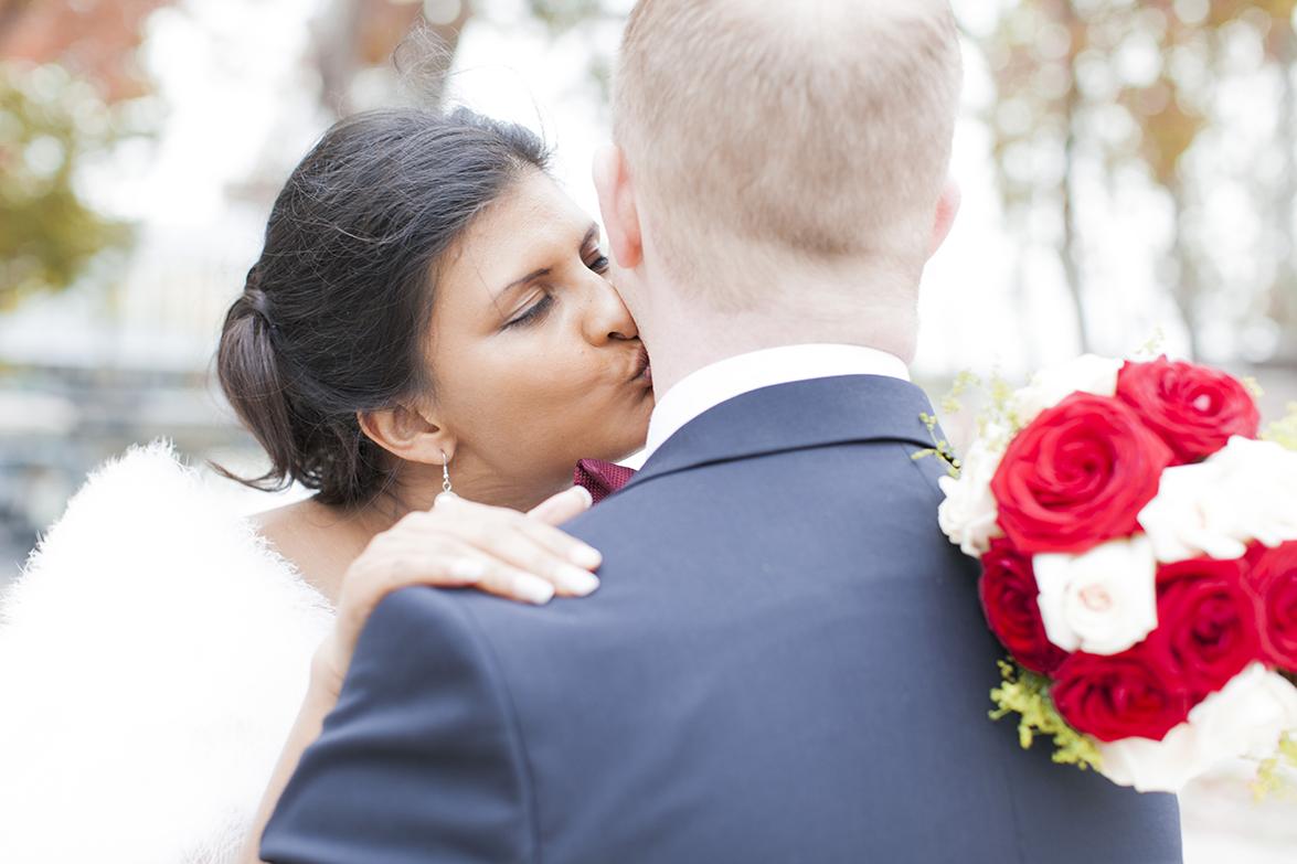 Saga & Niklas bröllop i Paris