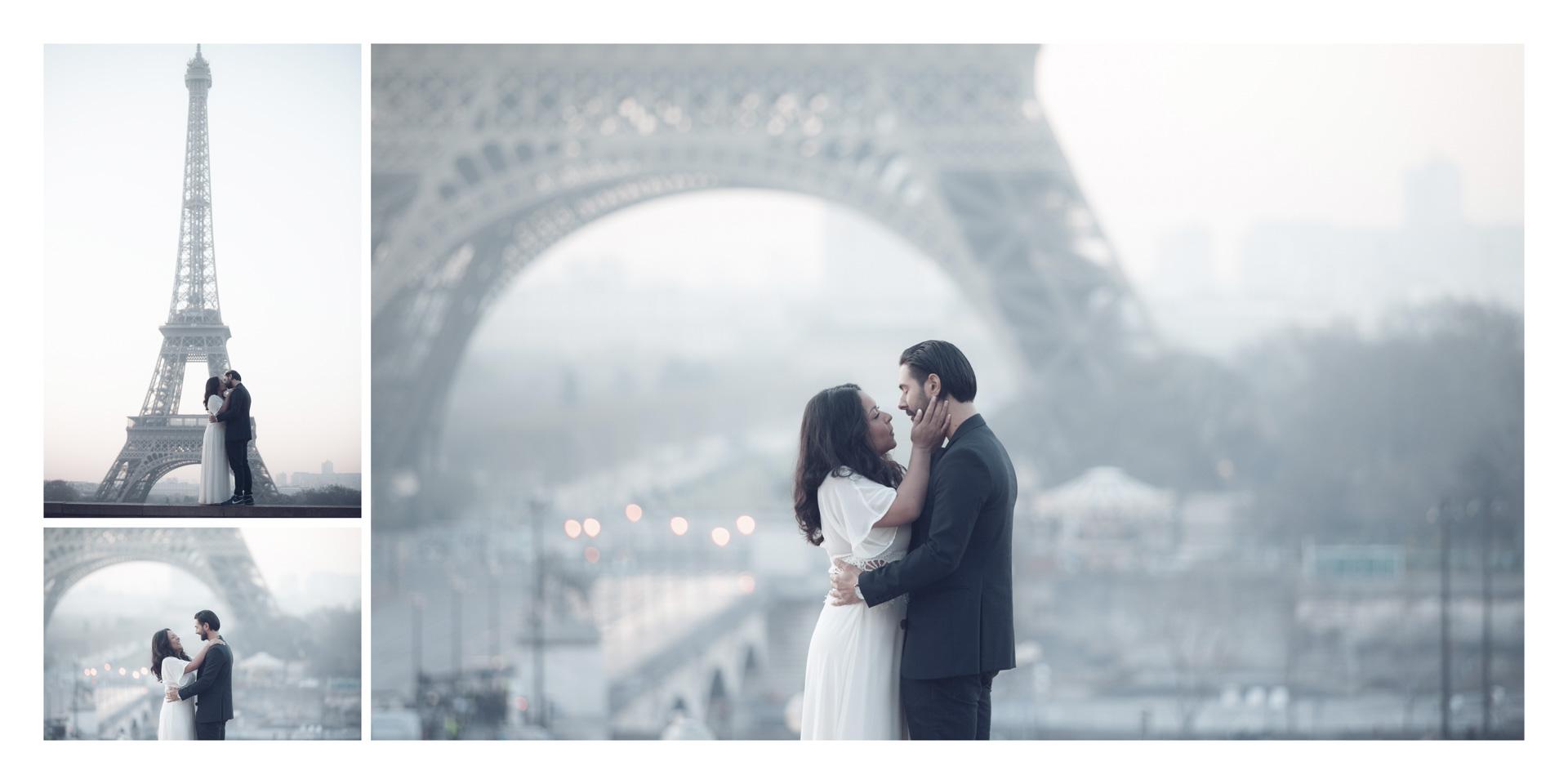 Natalia & Daniel Wedding Paris