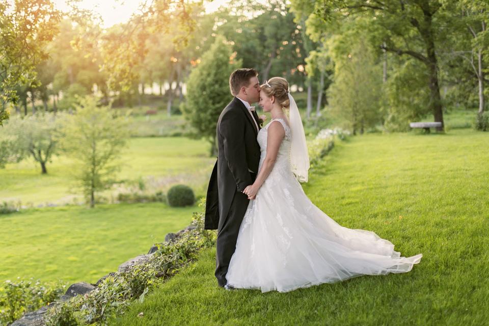 Wenngarns Slott och Skokloster kyrka: Mikaela och Emil