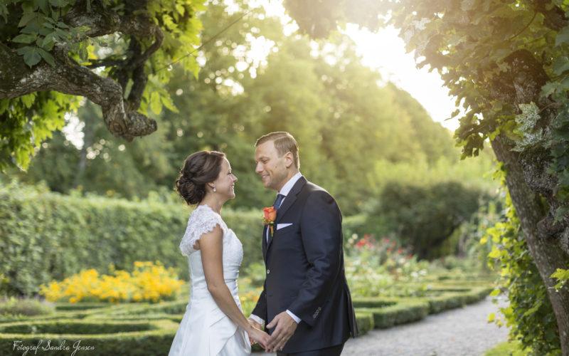 Ulriksdals Slott med härliga Ann & Fredrik