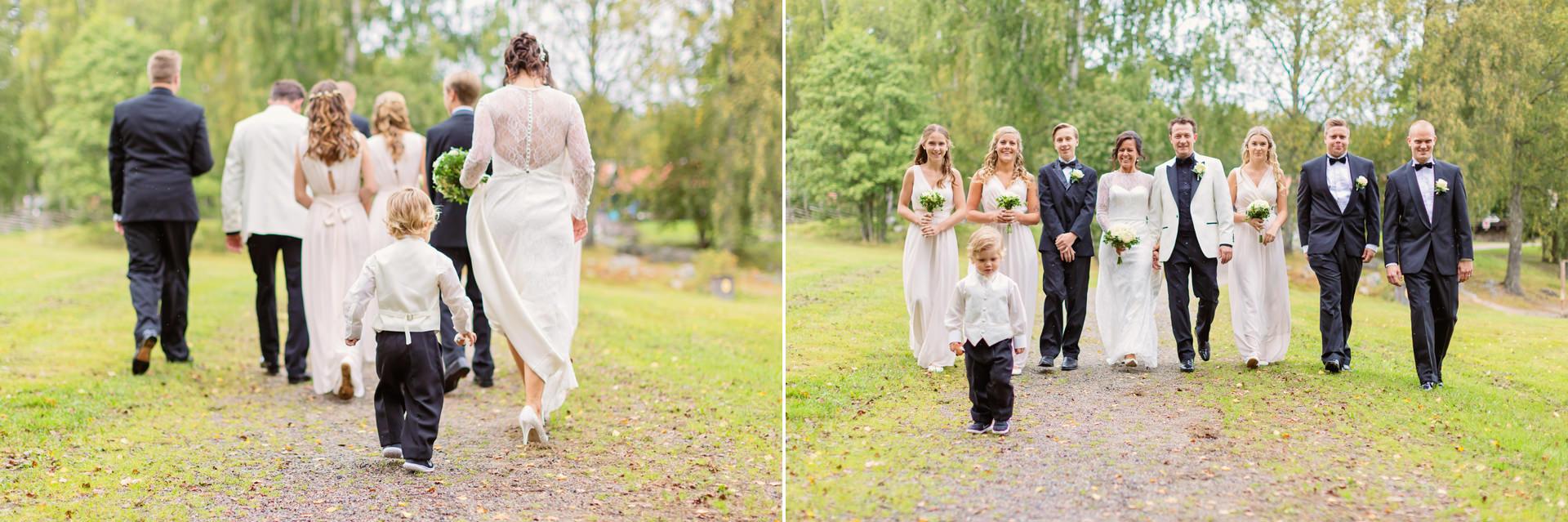 Vigsel i Lida idrottskyrka, Bröllop, Bröllopsfotograf