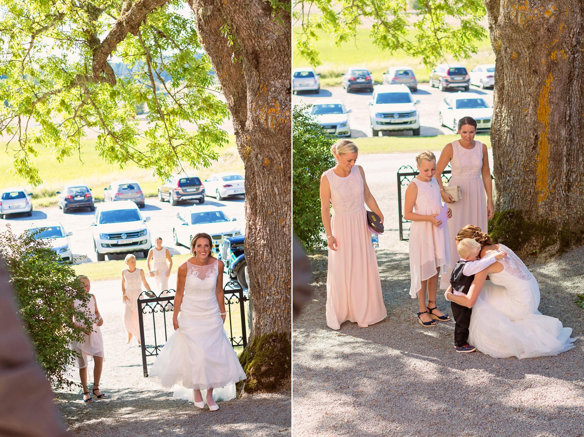 Bröllop Wenngarn Slott och Haga kyrka