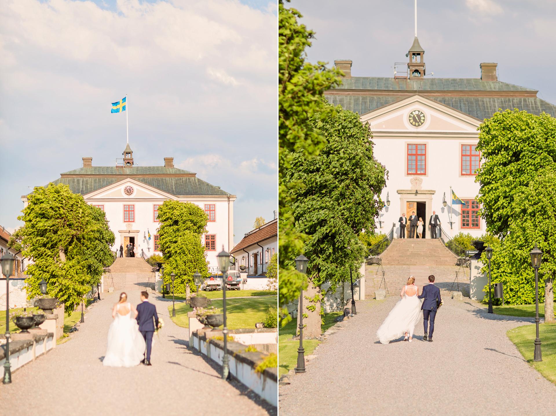 Bröllop Mauritzberg Slott, Norrköping