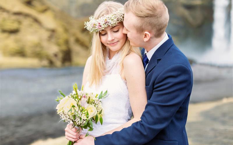 Iceland destinationwedding: Embla & David