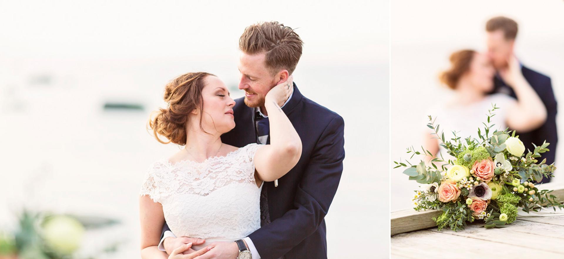 Bröllopfotograf Båstad Strand